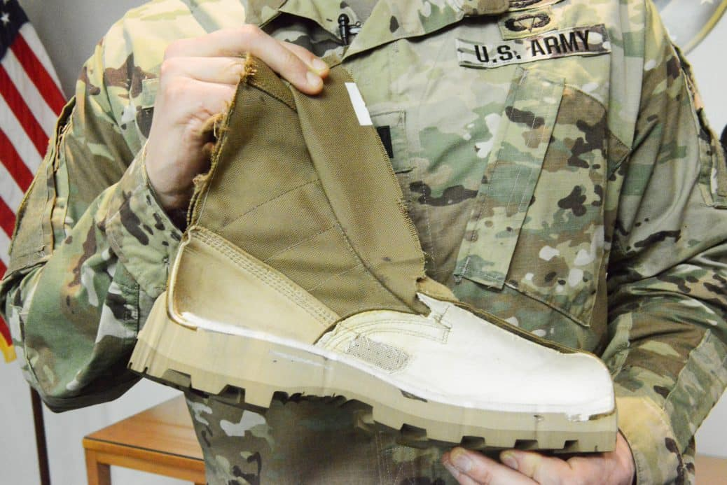 Us Army Unveils New Jungle Boot Steps Up Efforts To