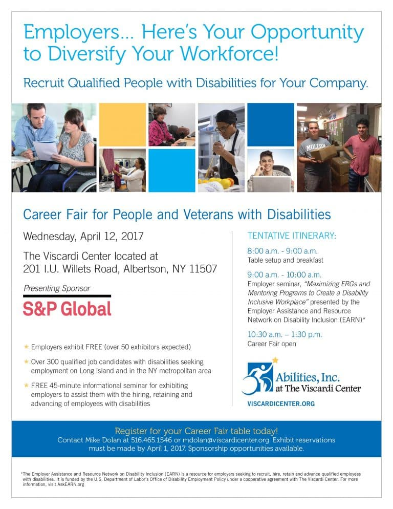 Career Fair For People And Veterans With Disabilities Is Approaching