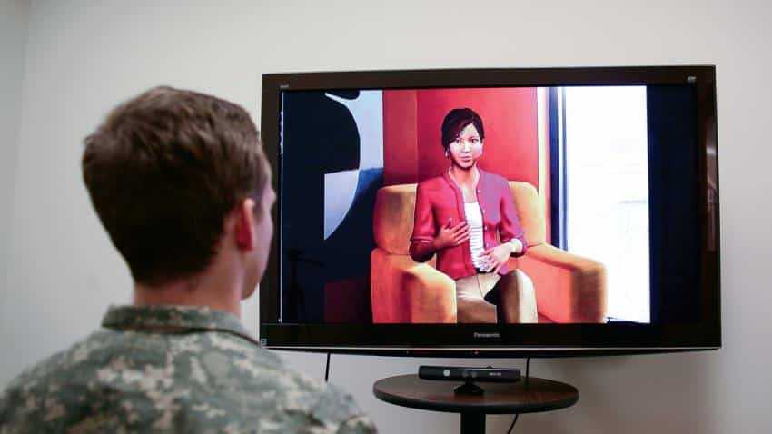 virtual therapist help veterans open up about ptsd