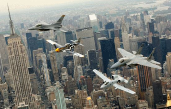 Us Air Forces Heritage Flight To Perform Flyover For Super Bowl