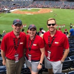 DAV MLB Attendees at baseball park