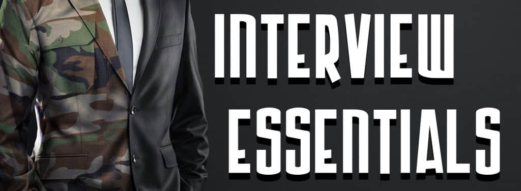 Interviewing Essentials banner