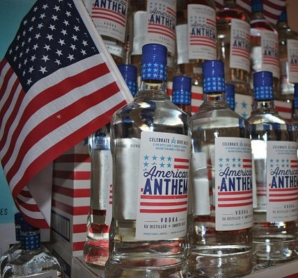 Diageo-American Anthem Vodka