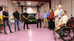 Garage Rehab helps out American Warrior Garage
