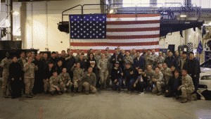 Gas Monkey Garage visited troops in Korea last Thanksgiving