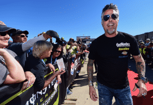 NASCAR: Rawlings walks the red carpet prior to the Monster Energy NASCAR Cup Series