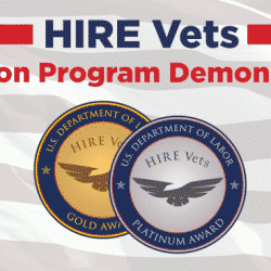 HIRE Vets banner