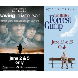 Saving Private Ryan and Forest gump Posters