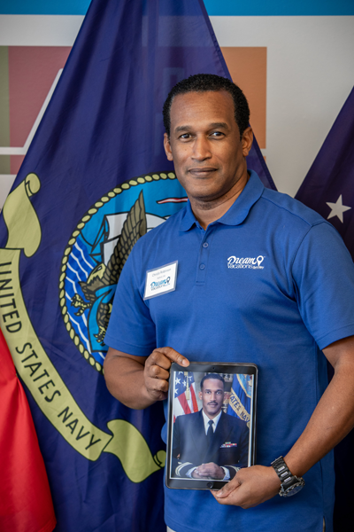 Operation Vetrepreneur Winner and Navy Vet Christo Robinson