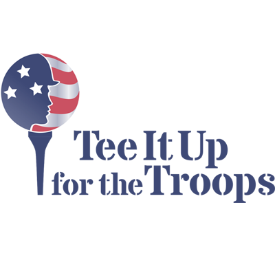 Tee it up for troops logo