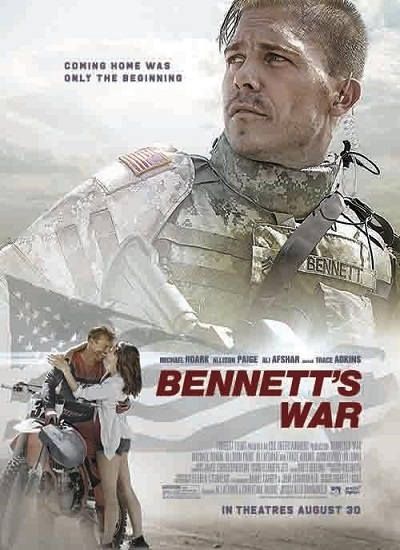 Movie poster for the movie Bennett's War