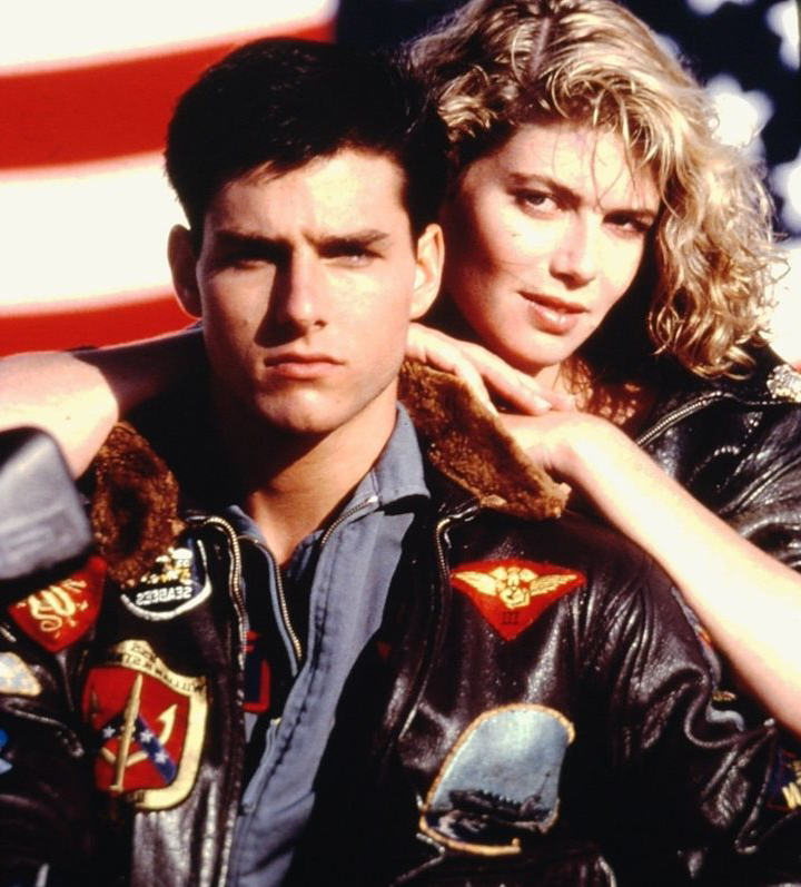Top Gun Tom Cruise Kelly McGillis poster