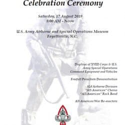 National Airborne Day Flyer