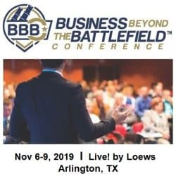 BBBC 2019 logo announcing the conference date and location