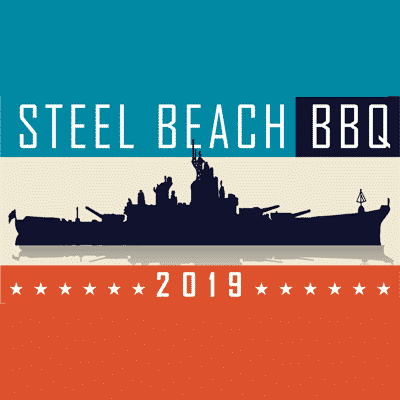 Battleship IOWA fundraiser poster