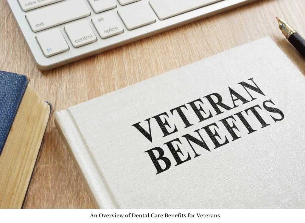 sign that says veteran benefits