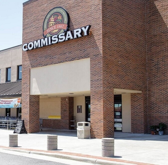 Commissary building
