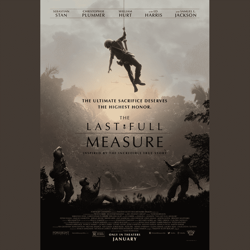 The Last Full Measure movie promo poster